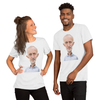 Jeremy Corbyn (Celebrity Sunday) Short-Sleeve Unisex T-Shirt