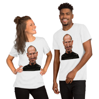 Steve Jobs (Celebrity Sunday) Short-Sleeve Unisex T-Shirt