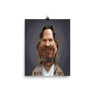 Jeff Bridges (Celebrity Sunday) Art Print Poster