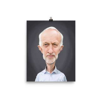 Jeremy Corbyn (Celebrity Sunday) Art Print Poster