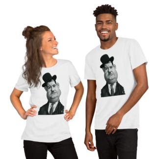 Oliver Hardy (Celebrity Sunday) Short-Sleeve Unisex T-Shirt