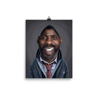 Idris Elba (Celebrity Sunday) Art Print Poster