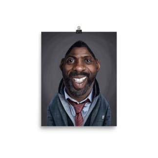 Idris Elba (Celebrity Sunday) Art Print Poster