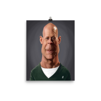 Bruce Willis (Celebrity Sunday) Art Print Poster