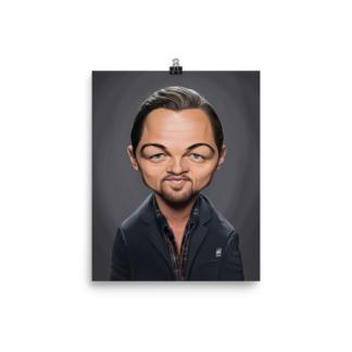 Leonardo DiCaprio (Celebrity Sunday)  Art Print Poster