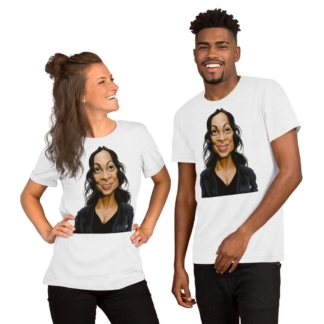 Rosario Dawson (Celebrity Sunday) Short-Sleeve Unisex T-Shirt