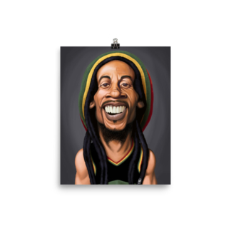 Bob Marley (Celebrity Sunday) Art Print Poster