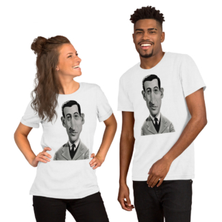 J.D.Salinger (Celebrity Sunday) Short-Sleeve Unisex T-Shirt