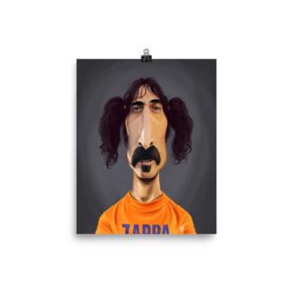 Frank Zappa (Celebrity Sunday) Art Print Poster