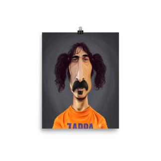Frank Zappa (Celebrity Sunday) Art Print Poster