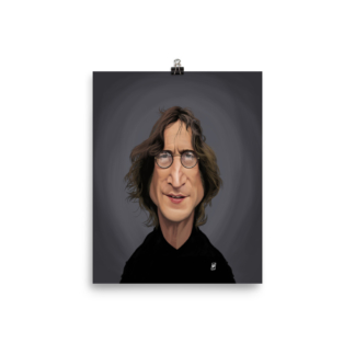 John Lennon (Celebrity Sunday) Art Print Poster