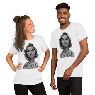 Ingrid Bergman (Celebrity Sunday) Short-Sleeve Unisex T-Shirt