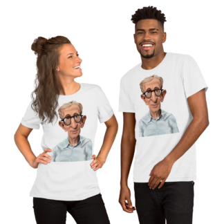 Woody Allen (Celebrity Sunday) Short-Sleeve Unisex T-Shirt