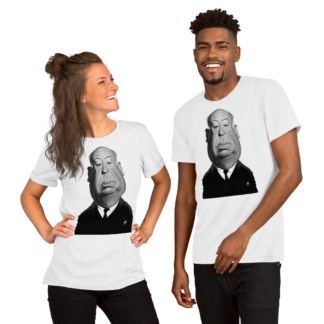 Alfred Hitchcock (Celebrity Sunday) Short-Sleeve Unisex T-Shirt