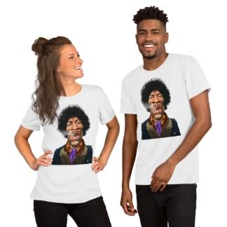 Jimi Hendrix (Celebrity Sunday) Short-Sleeve Unisex T-Shirt