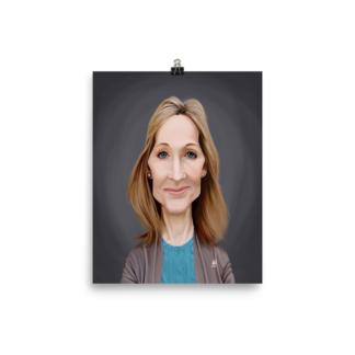 J.K.Rowling (Celebrity Sunday) Art Print Poster