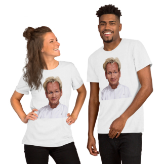 Gordon Ramsey (Celebrity Sunday) Short-Sleeve Unisex T-Shirt