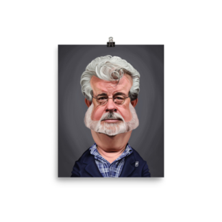 George Lucas (Celebrity Sunday) Art Print Poster