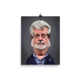 George Lucas (Celebrity Sunday) Art Print Poster
