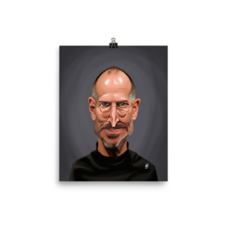 Steve Jobs (Celebrity Sunday) Art Print Poster