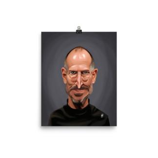Steve Jobs (Celebrity Sunday) Art Print Poster