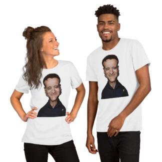Robin Williams (Celebrity Sunday) Short-Sleeve Unisex T-Shirt