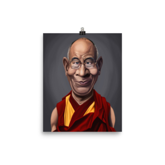 Dalai Lama (Celebrity Sunday) Art Print Poster
