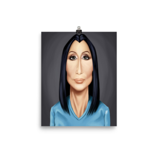 Cher (Celebrity Sunday) Art Print Poster