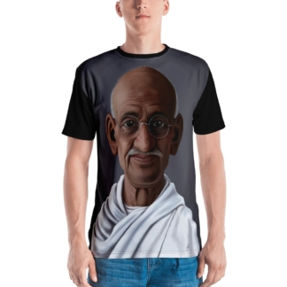 Mahatma Gandhi (Celebrity Sunday) All-Over  T-shirt