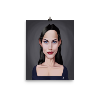 Liv Tyler (Celebrity Sunday) Art Print Poster