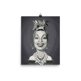 Carmen Miranda (Celebrity Sunday) Art Print Poster