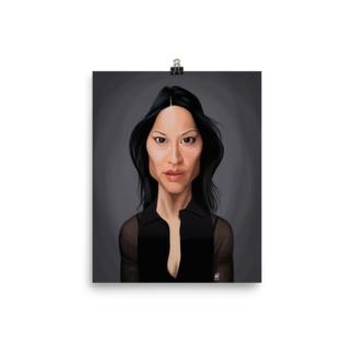 Lucy Liu (Celebrity Sunday) Art Print Poster