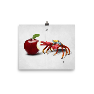 Core (Animal Illustration) Art Print Poster