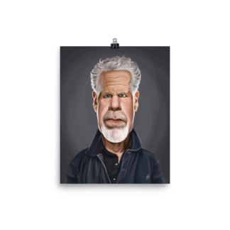 Ron Perlman (Celebrity Sunday) Art Print Poster