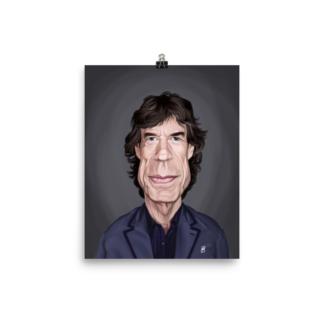 Mick Jagger (Celebrity Sunday) Art Print Poster