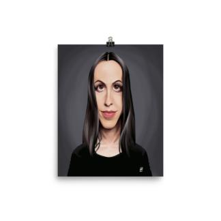 Alanis Morissette (Celebrity Sunday) Art Print Poster