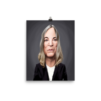 Patti Smith (Celebrity Sunday) Art Print Poster