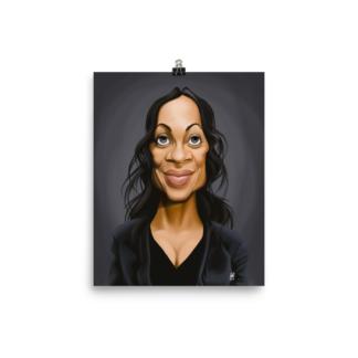 Rosario Dawson (Celebrity Sunday) Art Print Poster