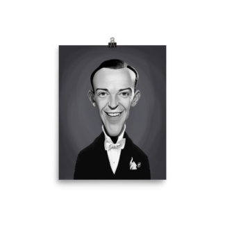 Fred Astaire (Celebrity Sunday) Art Print Poster