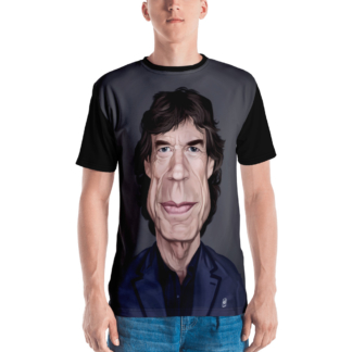 Mick Jagger (Celebrity Sunday) All-Over T-shirt