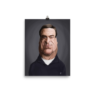 John Goodman (Celebrity Sunday) Art Print Poster