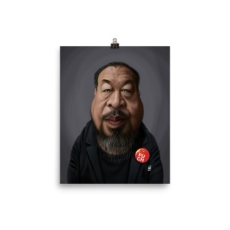 Ai Weiwei (Celebrity Sunday) Art Print Poster