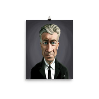 David Lynch (Celebrity Sunday) Art Print Poster