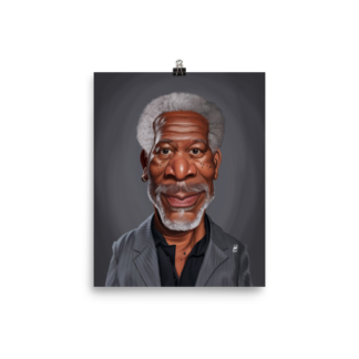 Morgan Freeman (Celebrity Sunday) Art Print Poster