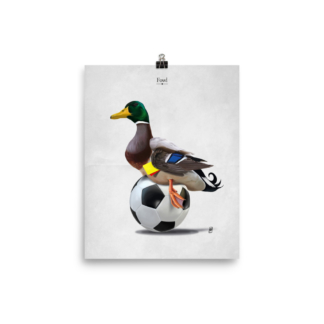 Fowl (Animal Illustration) Art Print Poster