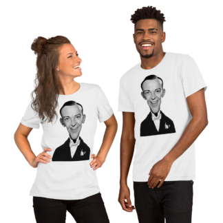 Fred Astaire (Celebrity Sunday) Short-Sleeve Unisex T-Shirt