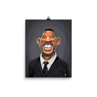 Will Smith (Celebrity Sunday) Art Print Poster