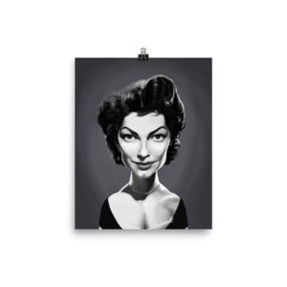 Ava Gardner (Celebrity Sunday) Art Print Poster