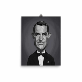 Cary Grant (Celebrity Sunday) Art Print Poster
