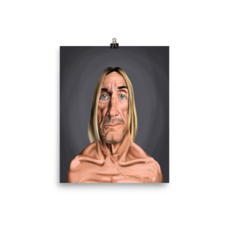 Iggy Pop (Celebrity Sunday) Art Print Poster